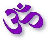 Om yoga symbol